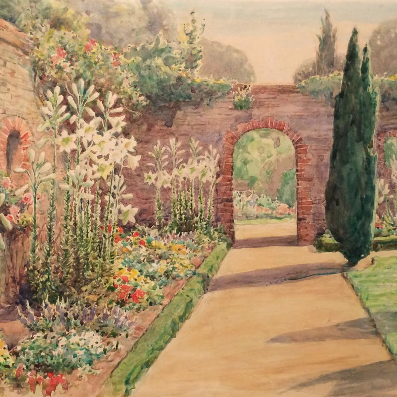 Walled Garden in Surrey, England