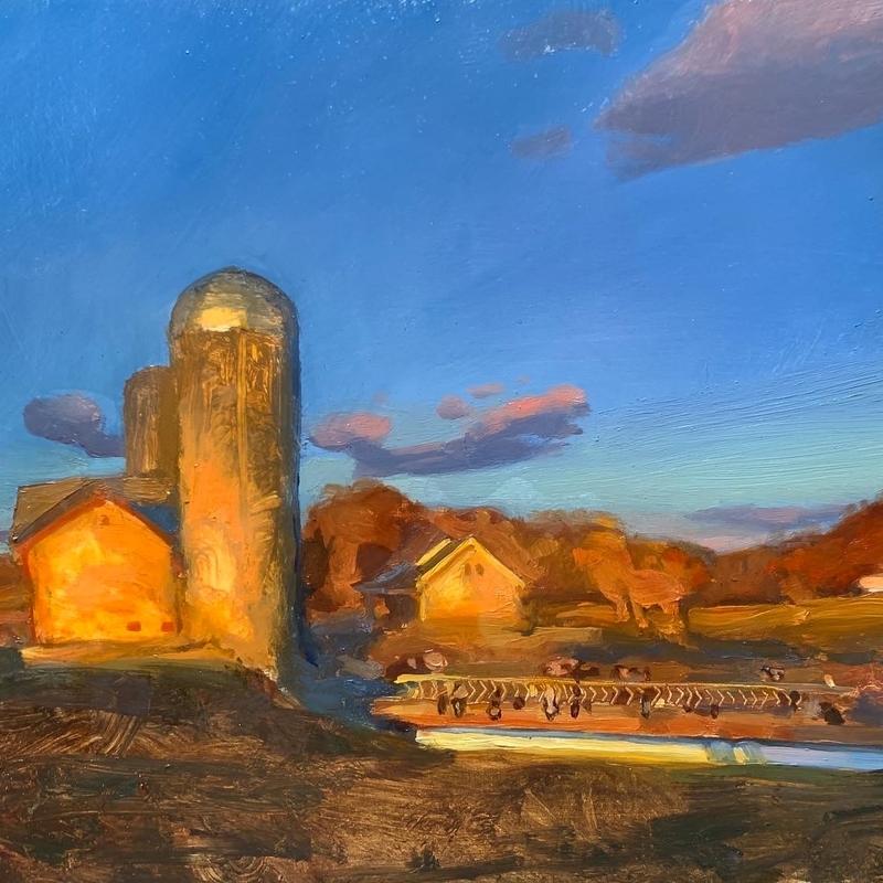 Amish Farm Landscape