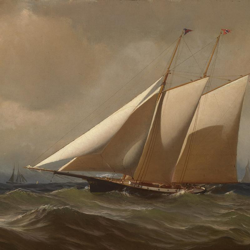 """Racing Yacht """"Comet"""""""