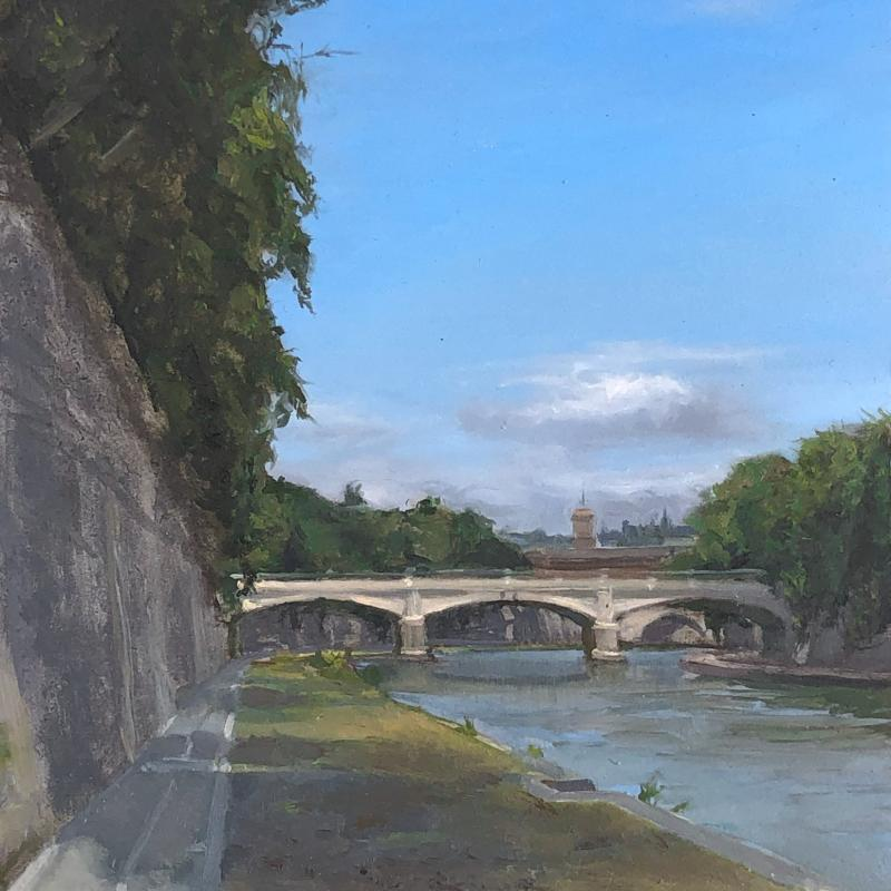 Ponte Sisto Bridge in Rome