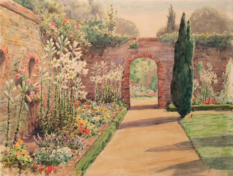 Walled Garden in Surrey, England