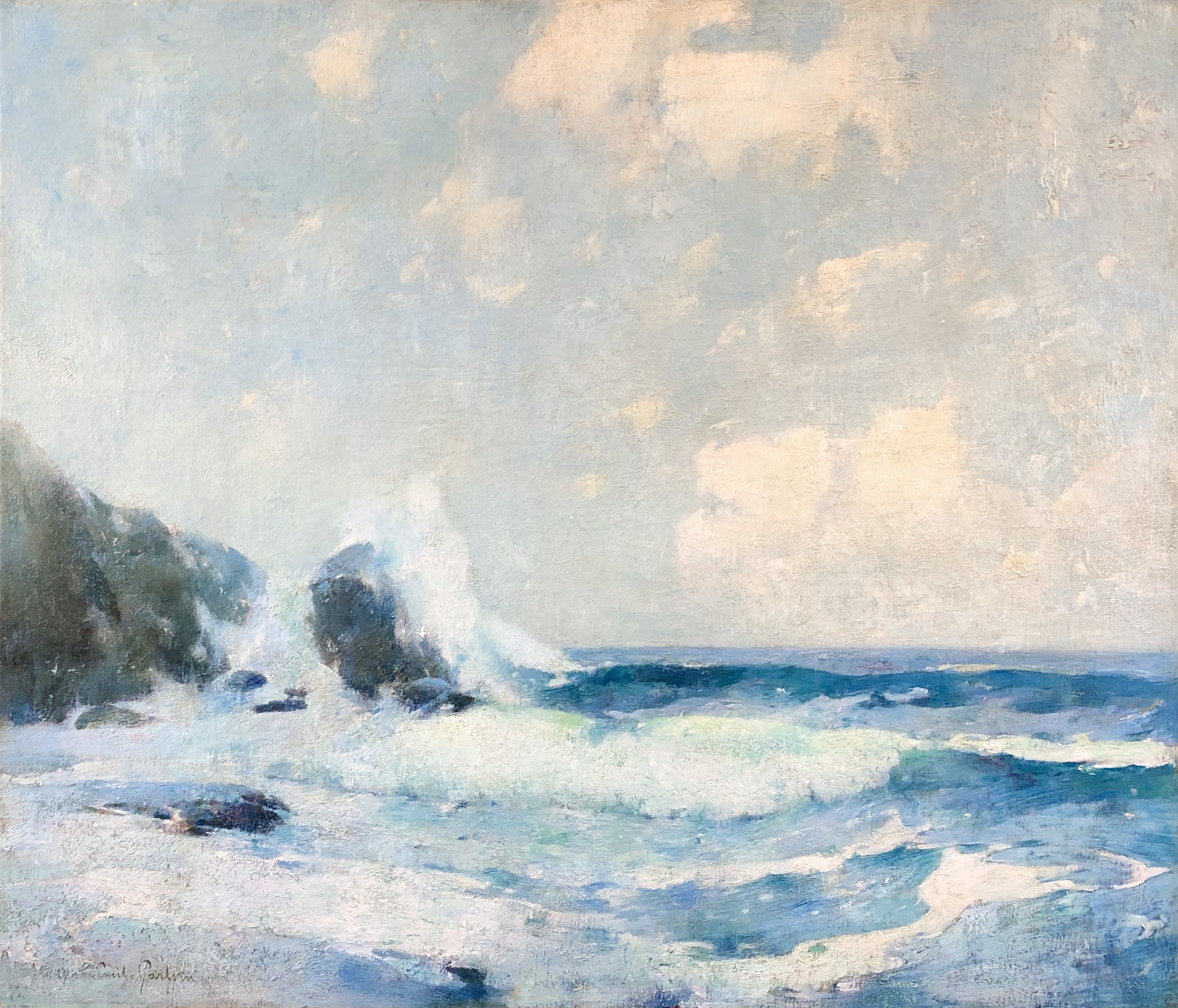 Seascape of the Coast of Maine
