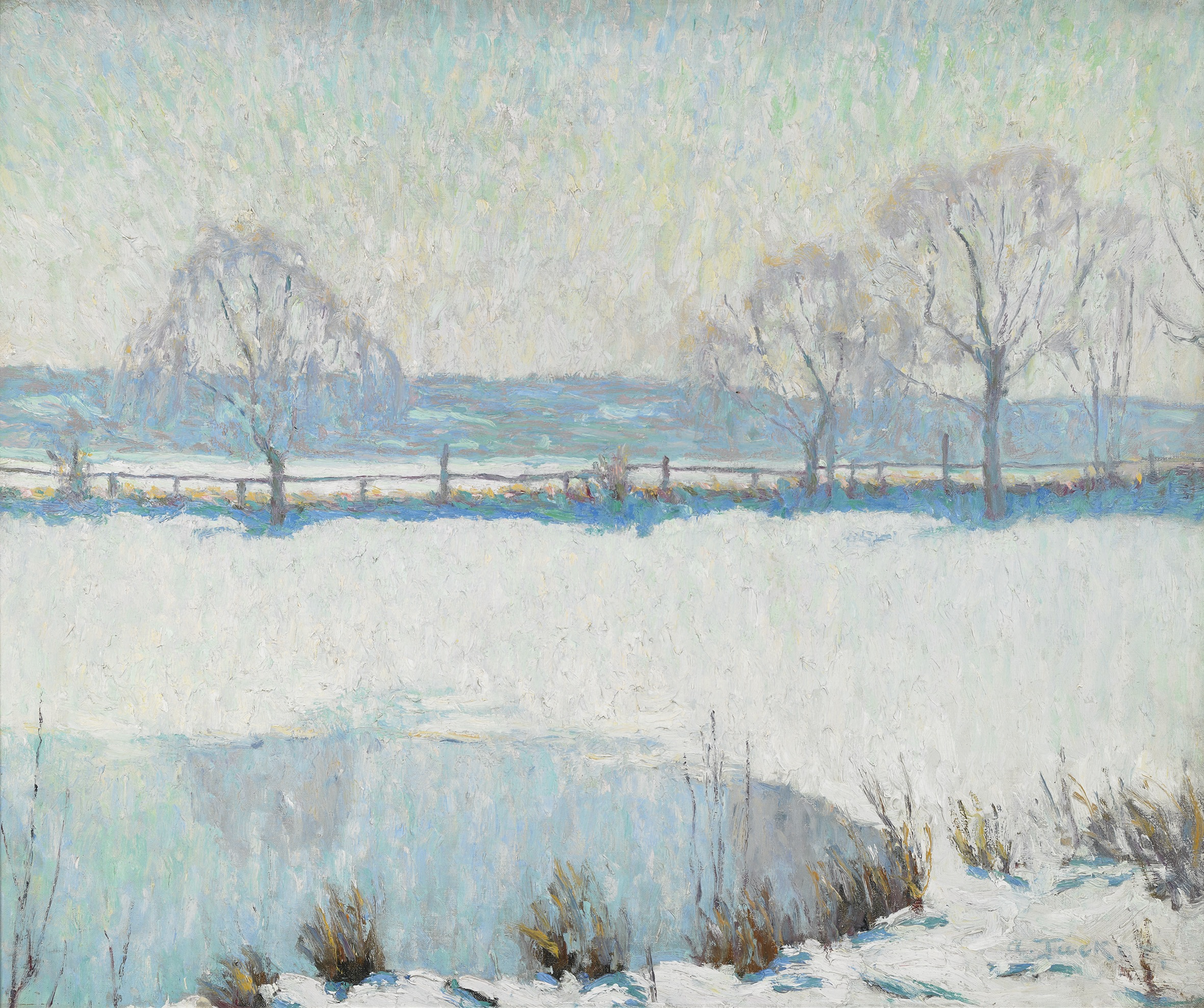 A Winter Pool